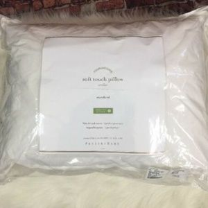 Pottery Barn Soft Touch Pillow Standard White